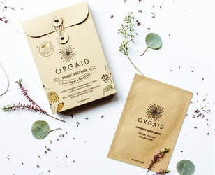ORGAID Organic Sheet Masks
