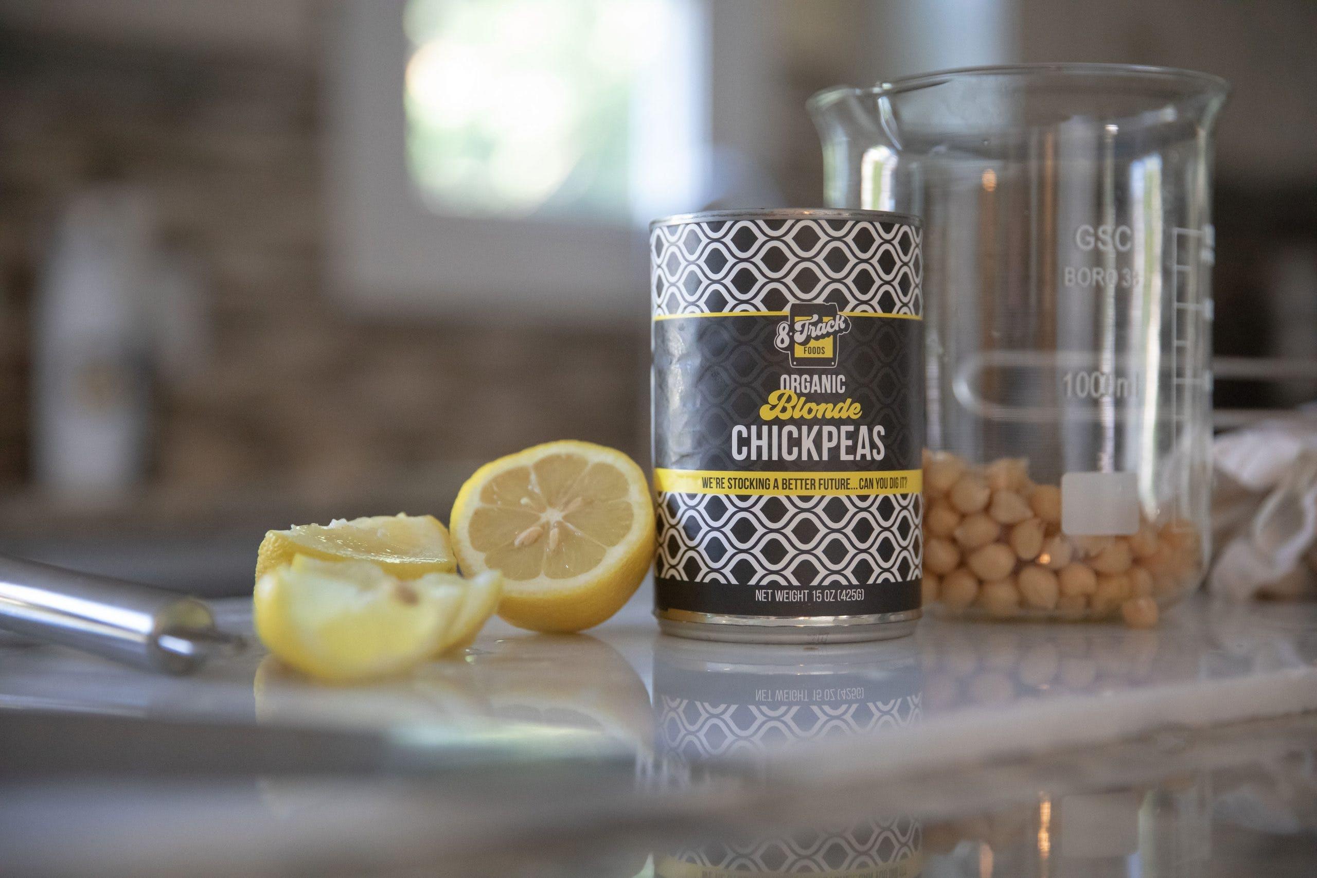 8 Track Foods Chickpeas