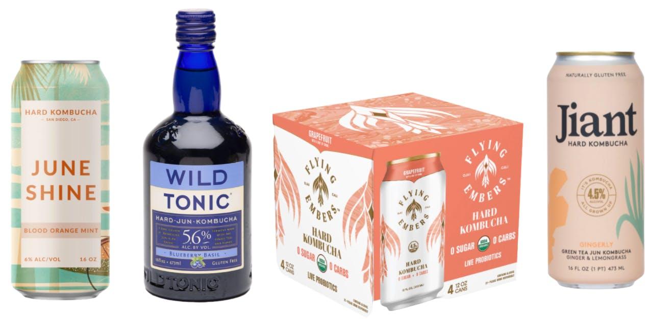trending alcoholic kombucha brands
