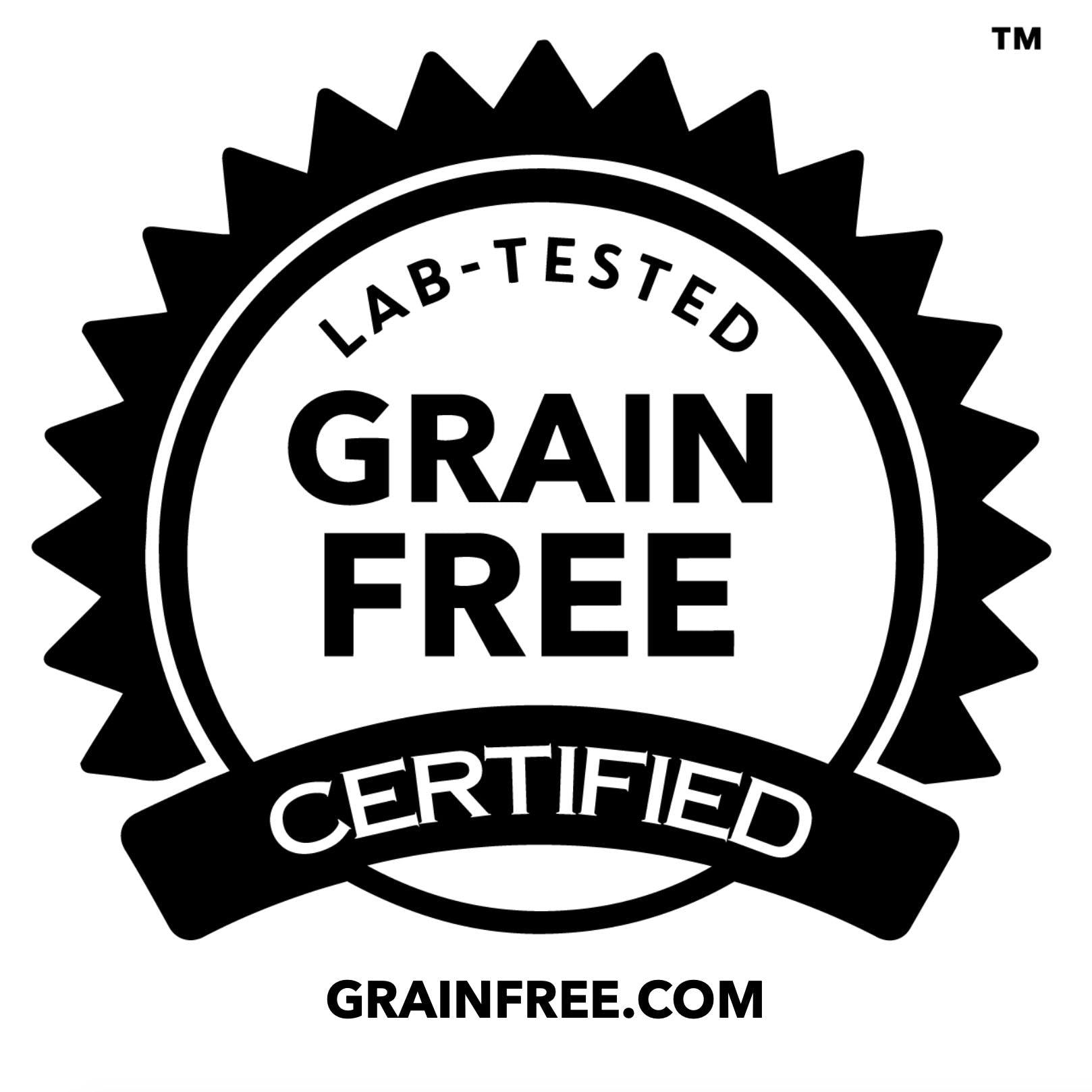 Grain-Free Certified