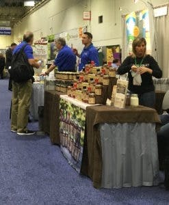 Vendors at the Healthy & Natural Show