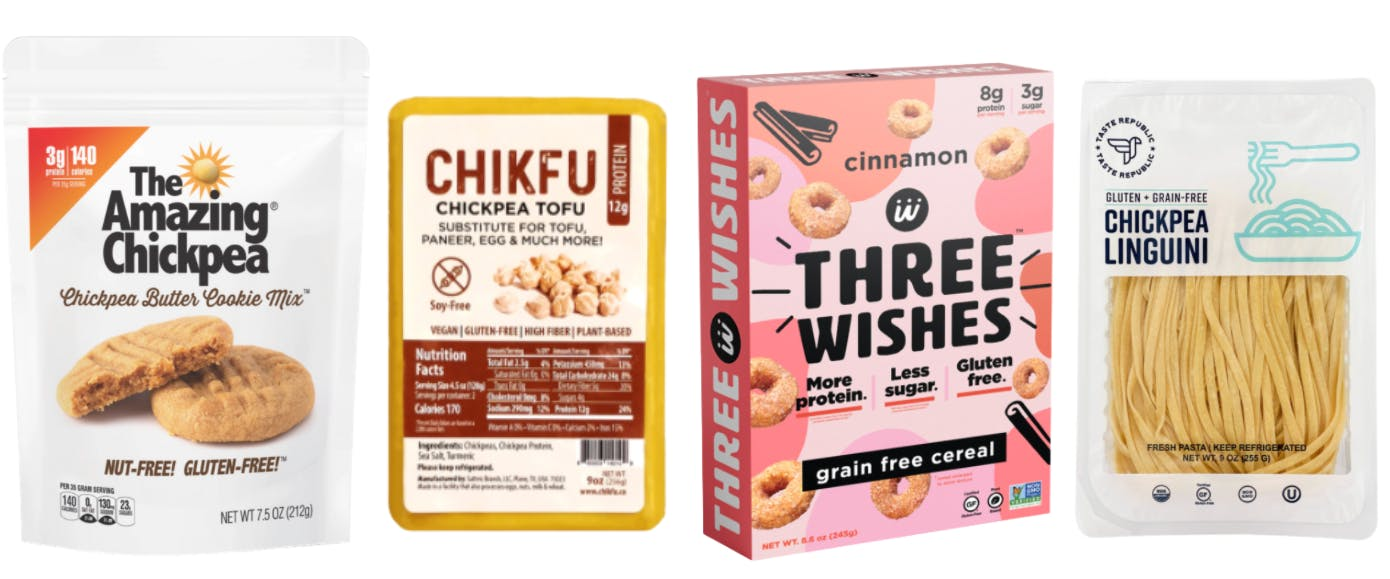 trending chickpea products