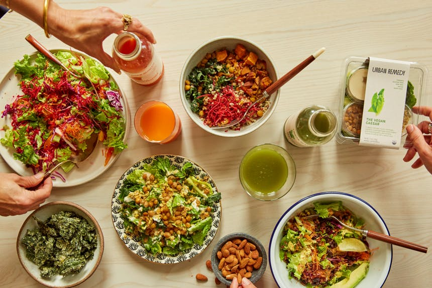 Urban Remedy Salads and Grain Bowls
