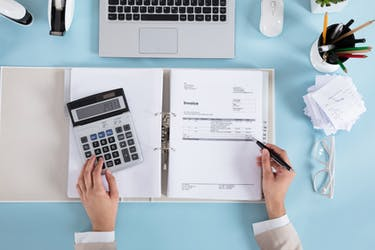 why fees are deducted from an invoice
