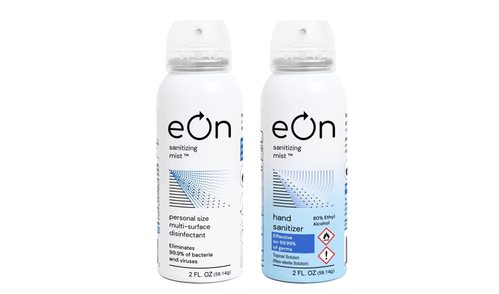 eOn Mist disinfectant spray