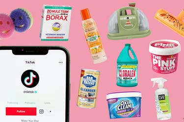 Tiktok cleaning trends and products