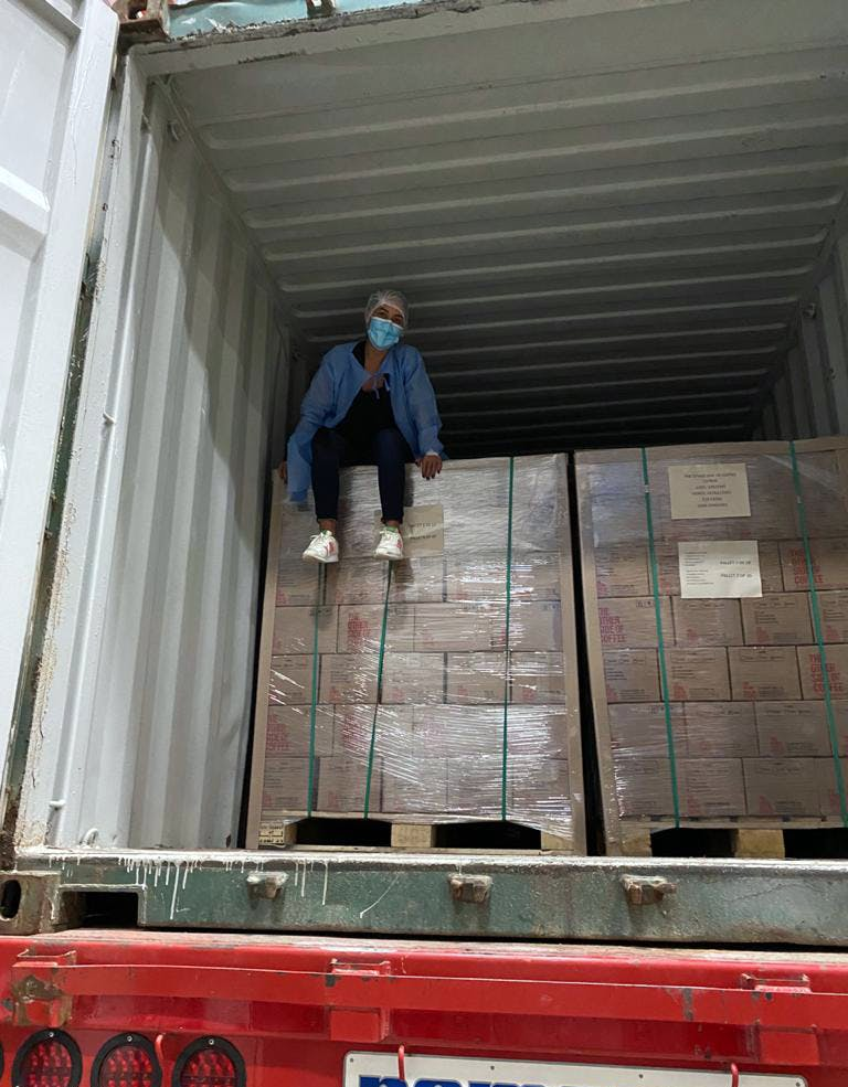 Shipping the product