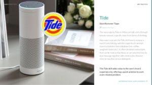 Tide Alexa app