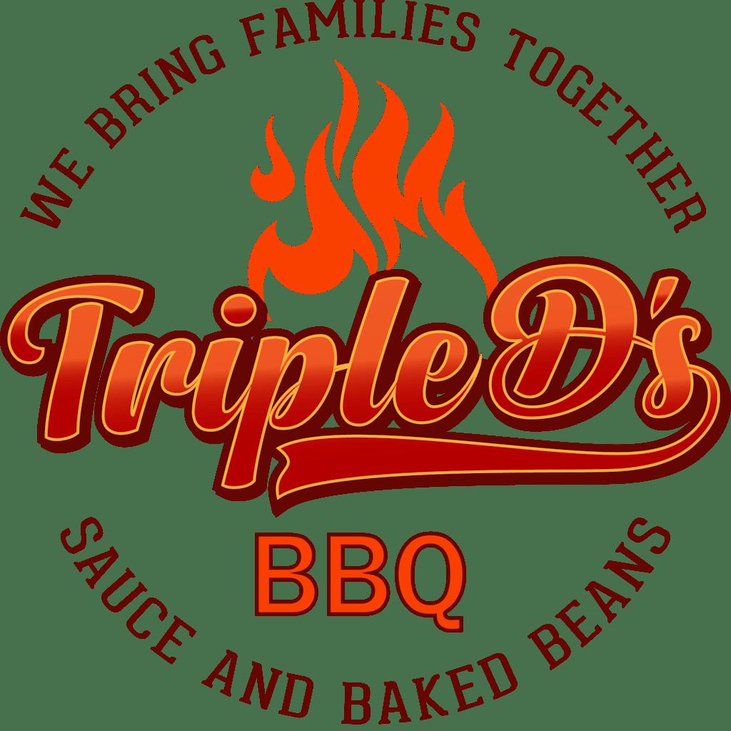 Triple D's BBQ Logo