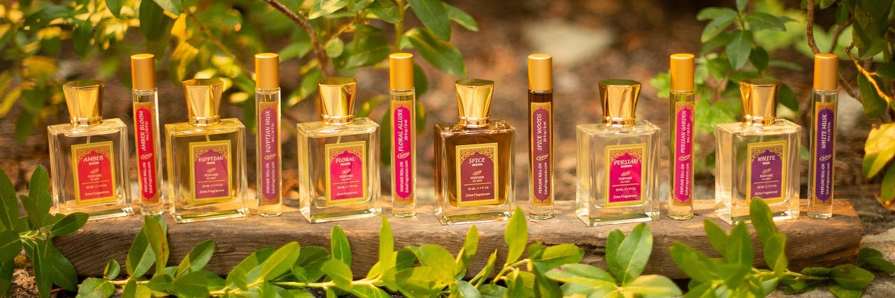 Zoha Fragrances Perfume Selection