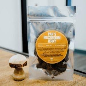 Pan's Vegan Mushroom Jerky